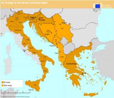karta evrope 2020 Jadransko jonska strategija kao indikator makroregionalnog  karta evrope 2020
