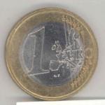 one euro coin, jedan evro